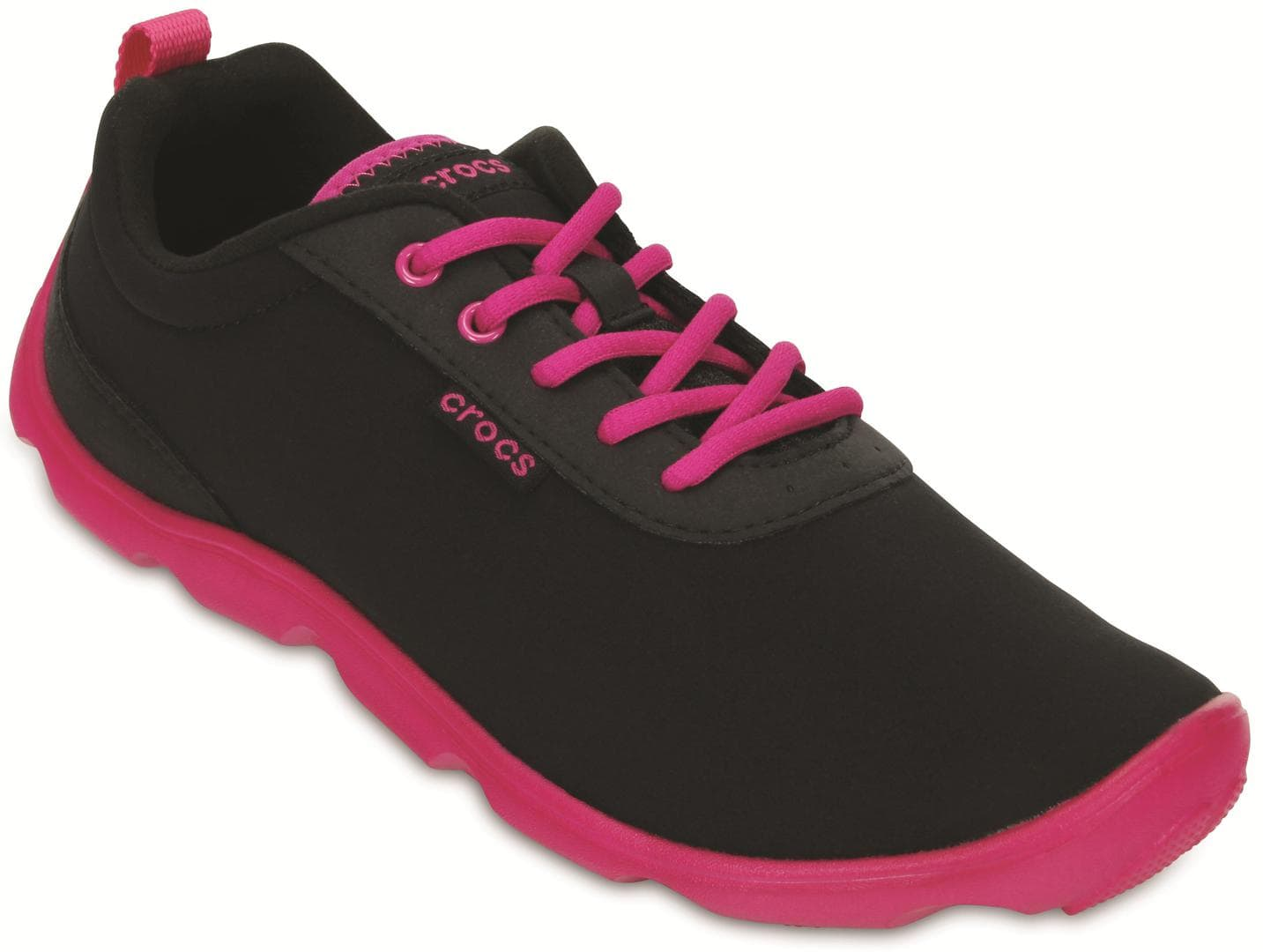 15500-0J4--ANGLE--Duet_Busy_Day_Lace-up_W--Black-Candy_Pink
