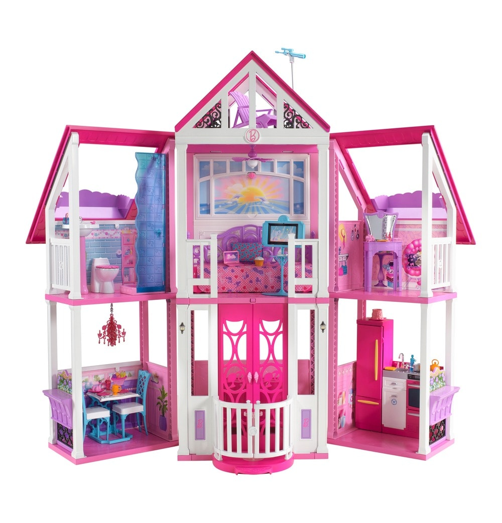 der traum meiner kindheit das barbie traumhaus zu gewinnen frau mutter blog. Black Bedroom Furniture Sets. Home Design Ideas