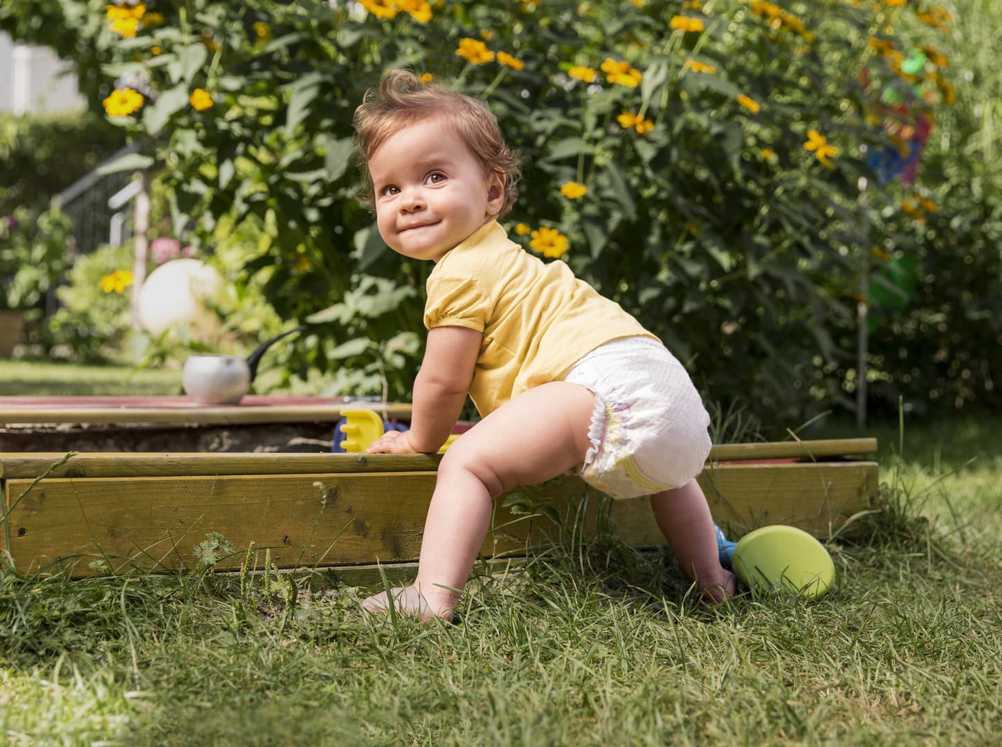 Pampers Kleine Entdecker-Initiative 2015