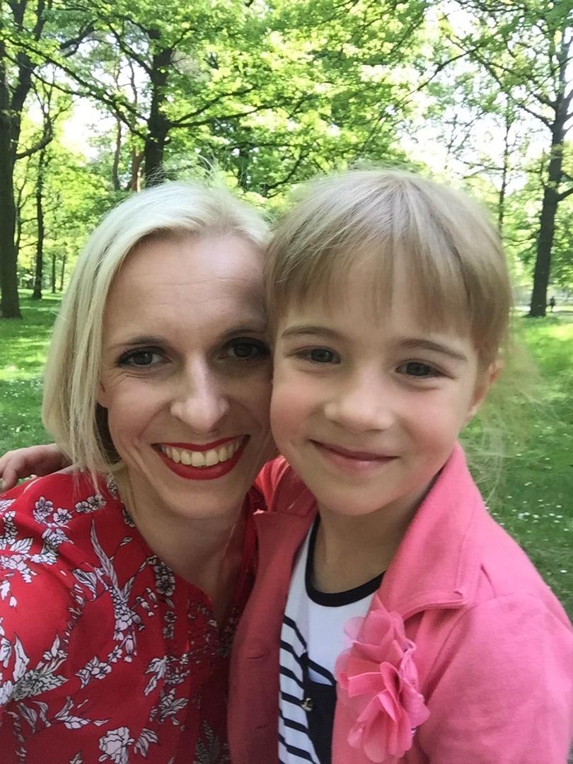 Schöne Mama Frau Mutter Blog