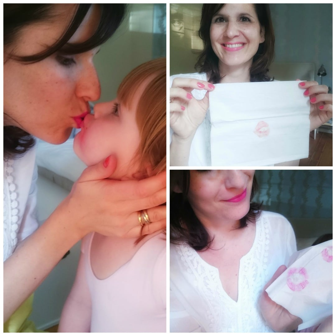 Kleenex Kiss Collage