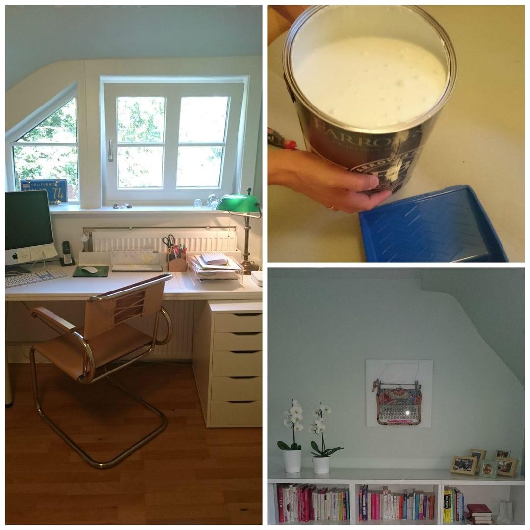 Home Office DIY Frau Mutter Blog
