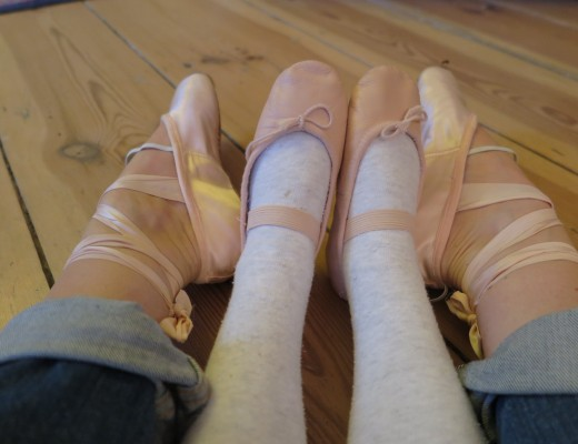 Ballettstunde Frau Mutter Blog