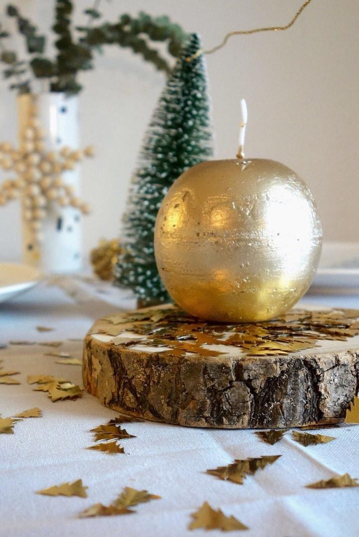 einfach aber schick weihnachtliche tischdeko. Black Bedroom Furniture Sets. Home Design Ideas