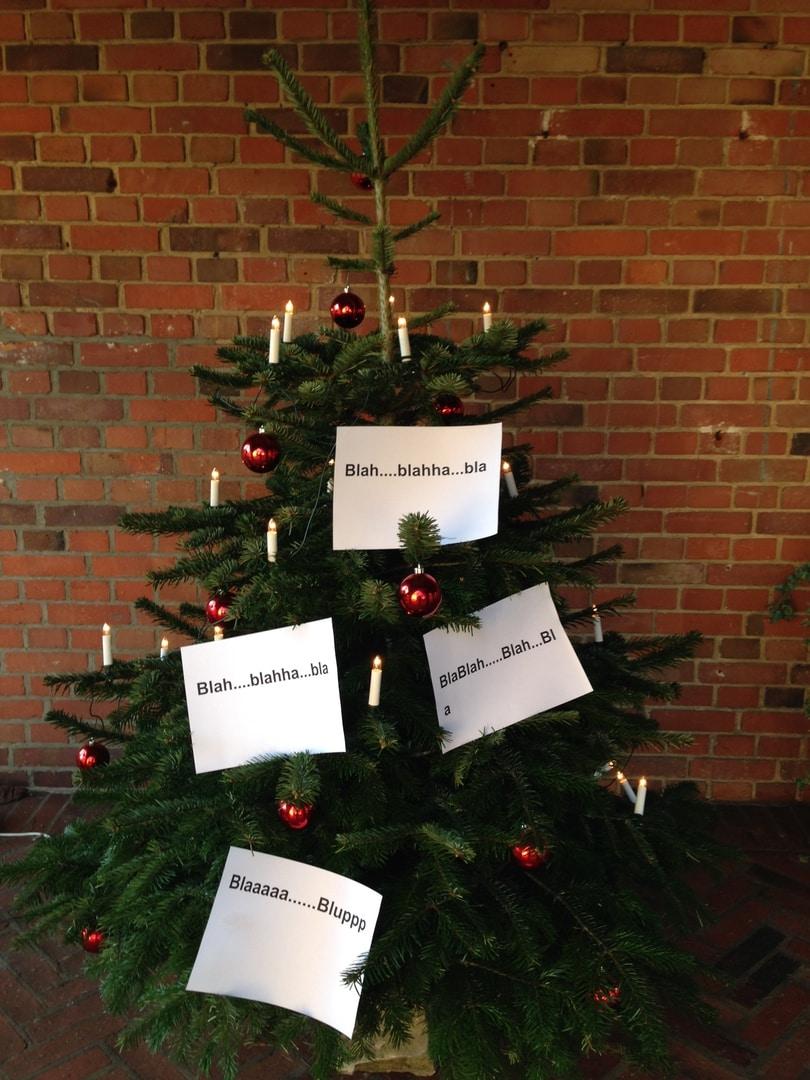 Gespraeche Weihnachtsbaum Frau Mutter Blog