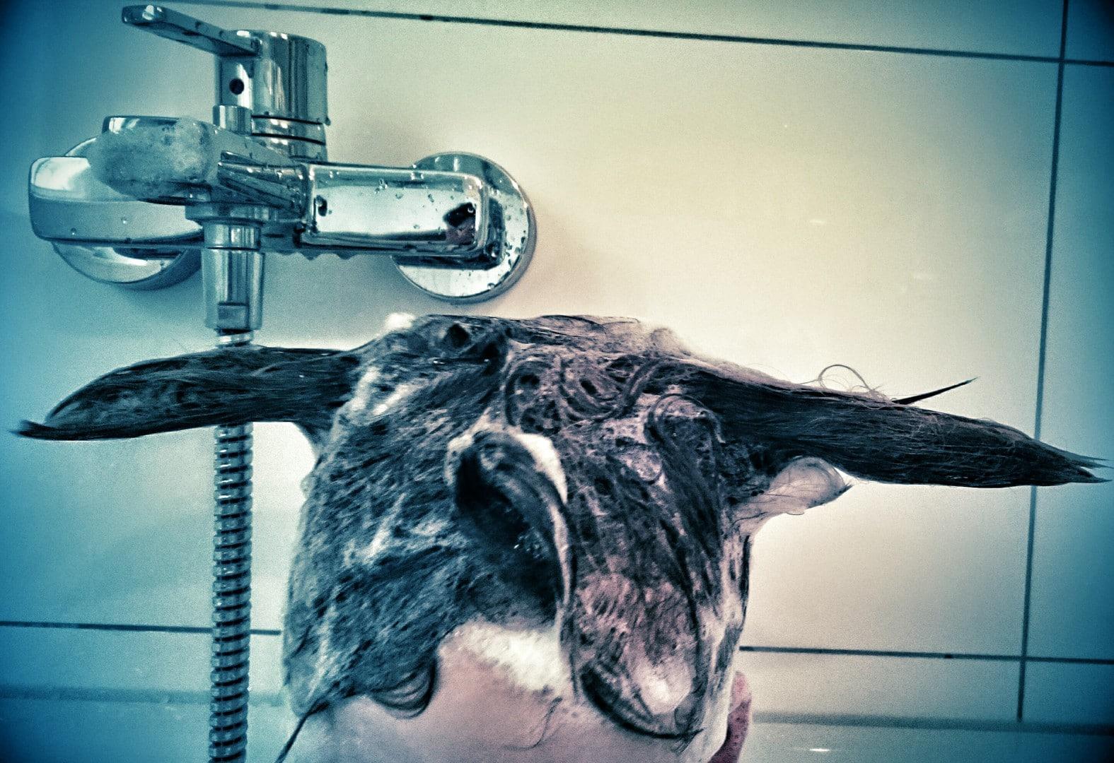 Kinder haare waschen 3