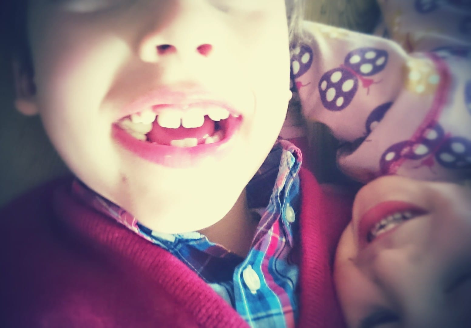 Kinderlachen Frau Mutter Blog