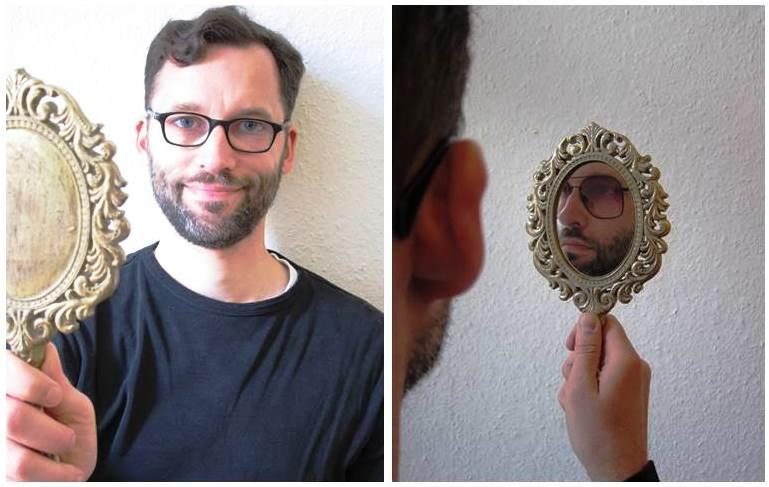 Spiegelbild-Bild
