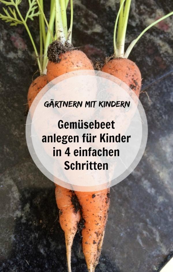 Gemüsebeet anlegen für Kinder