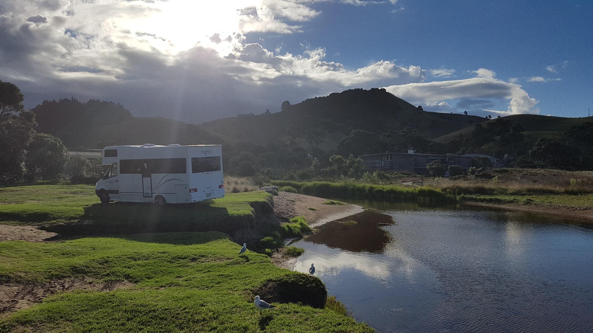 mit dem Camper durch Neuseeland