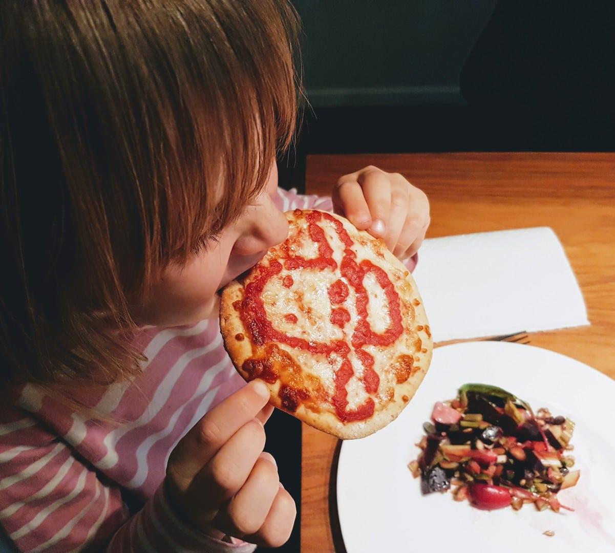 entspanntes essen mit kindern