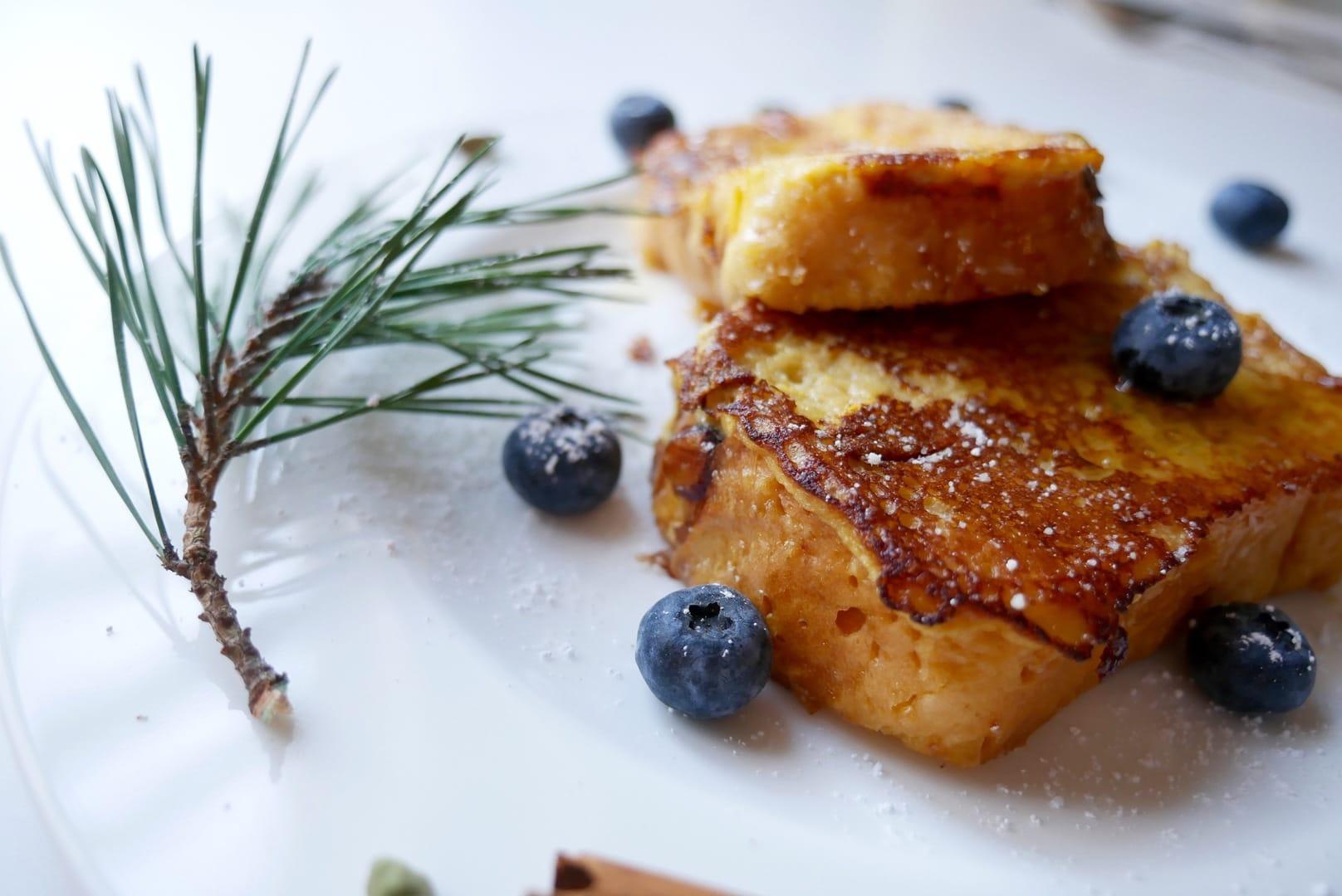 french toast mit kardamon und orange