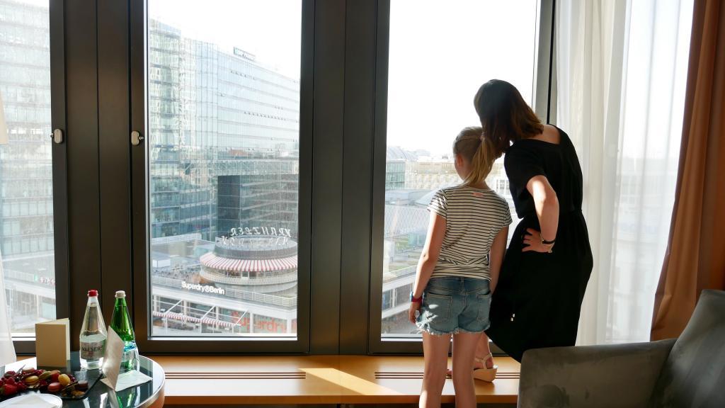 Swissotel Berlin Zimmer mit Aussicht