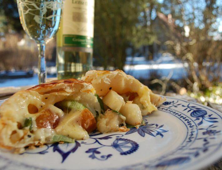 Herzhaft und so einfach: Unser Birnen-Lauch Strudel Rezept